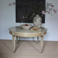Large C1900/1920s French Painted Table