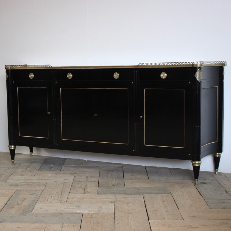 Mid 20th Cent French Ebonised Enfilade / Buffet -brownrigg-large-mid-20th-cent-french-ebonised-enfilade-buffet-3035-THEx-main-636774577896578488.jpeg