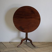 Late 18th Cent French Louis XVI Tilt Top Table