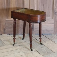 Early 19th cent English Mahogany Wine Cooler