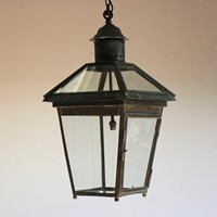 Late 19th/Early 20th Cent English Copper Lantern