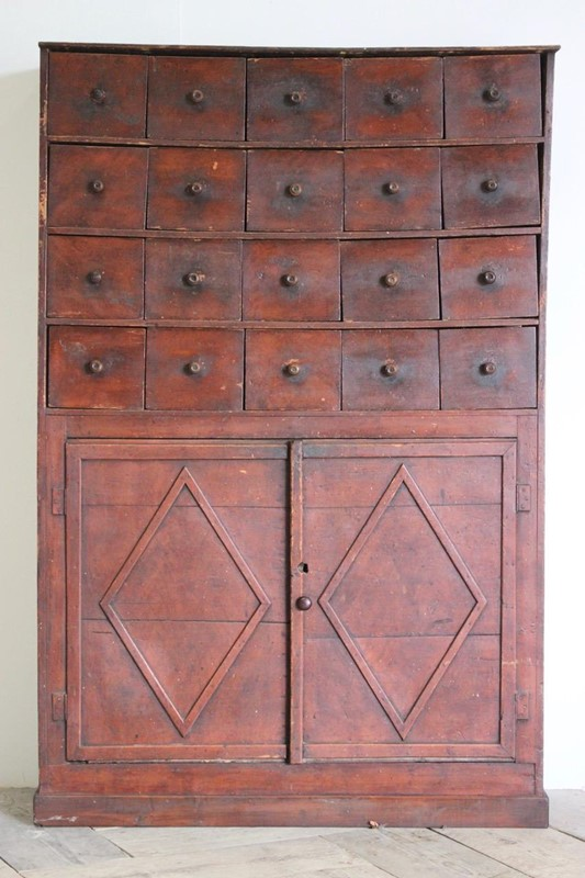 19th Century French Cupboard in original Paint -brownrigg-mid-19th-century-french-painted-cupboard-in-original-paint-5319-3-main-637086538605246801.jpeg