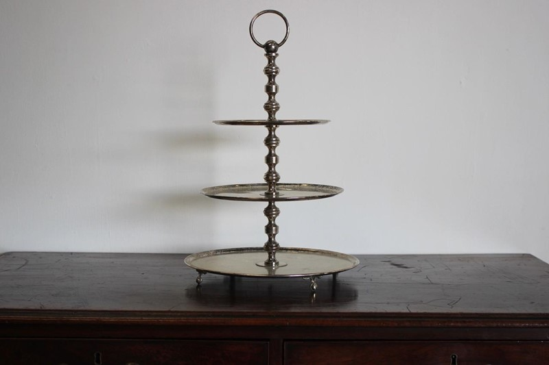 Mid 20th Cent French Silver plated Cake Stand-brownrigg-mid-20th-cent-french-silver-plated-cake-stand-2615-4-1-main-636930940664513559.jpeg