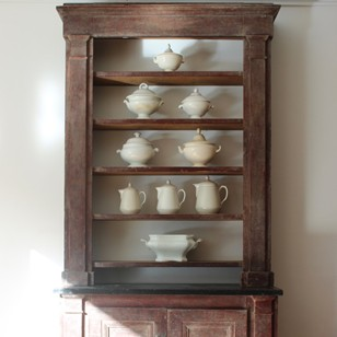 Early 19th cent French Directoire Bookcase