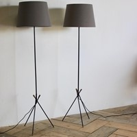 Pair of 1960s French Standing Lights