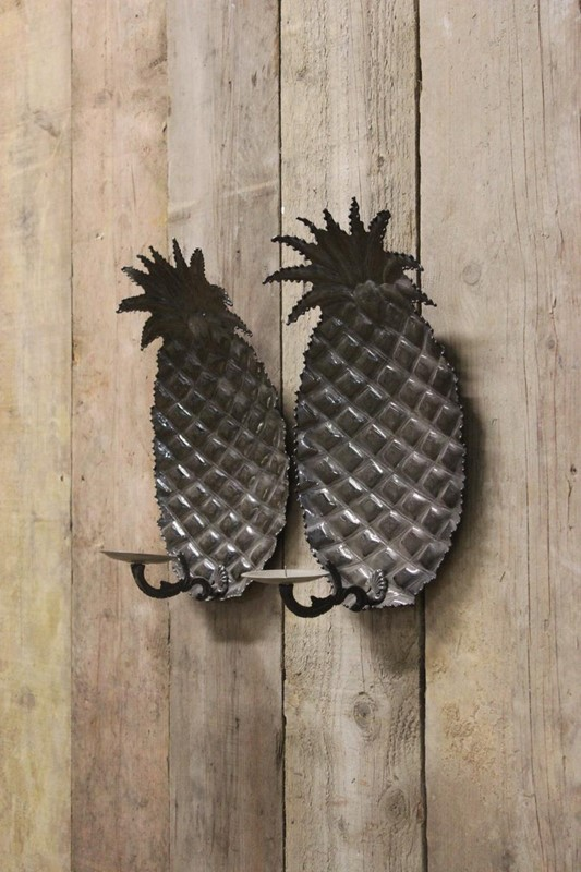 1970s Spanish Pineapple wall Lights in Steel-brownrigg-pair-of-1970s-spanish-pineapple-wall-lights-in-steel-56-3-main-637218527232544963.jpeg