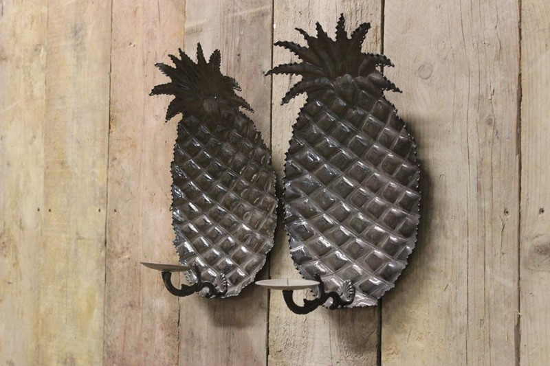 1970s Spanish Pineapple wall Lights in Steel-brownrigg-pair-of-1970s-spanish-pineapple-wall-lights-in-steel-56-l-main-637218527249576417.jpeg