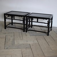 Pair of Mid 20th Cent Chinese Occasional Tables