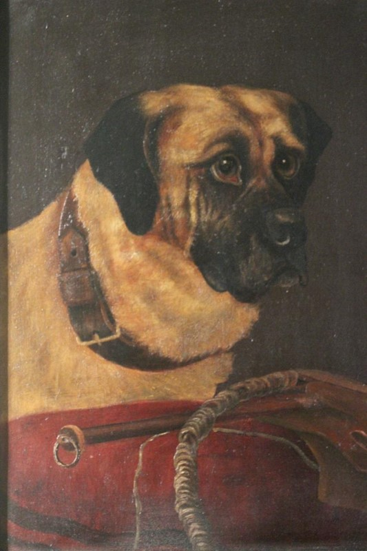 19th Cent Oil on Canvas of a Dog-brownrigg-product1-18feb-1555-1-main-636887656848341773.jpeg