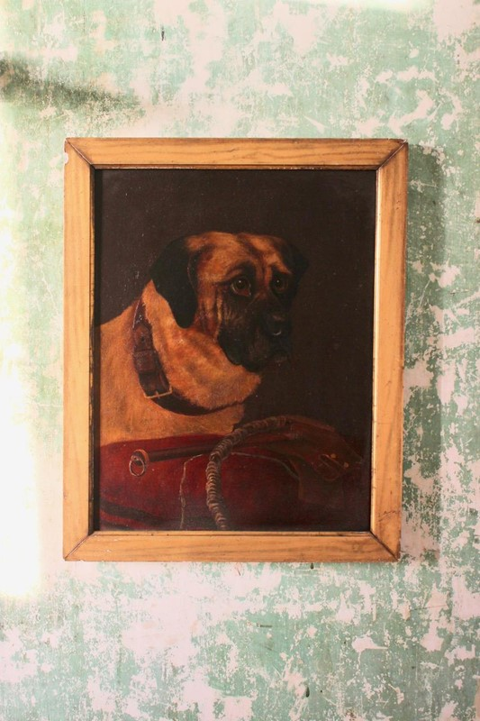 19th Cent Oil on Canvas of a Dog-brownrigg-product1-18feb-1555-3-main-636887656862404146.jpeg