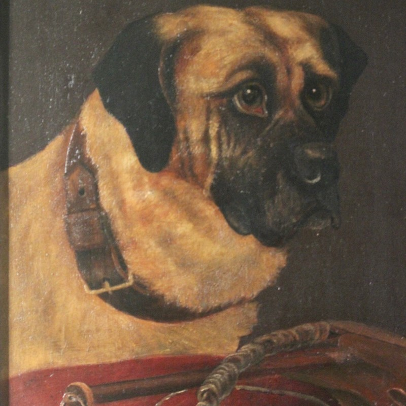 19th Cent Oil on Canvas of a Dog-brownrigg-product1-18feb-1555-thex-main-636887656885060287.jpeg