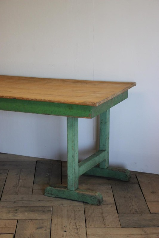 1940s Pine Dining Table in original paint-brownrigg-product4-13july-4715-2-main-636670944139689496.jpeg