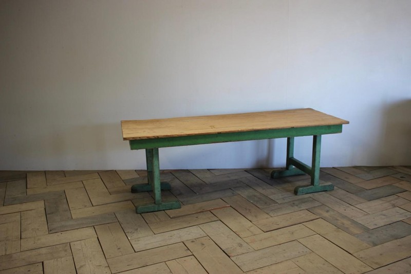 1940s Pine Dining Table in original paint-brownrigg-product4-13july-4715-3-main-636670944152014049.jpeg
