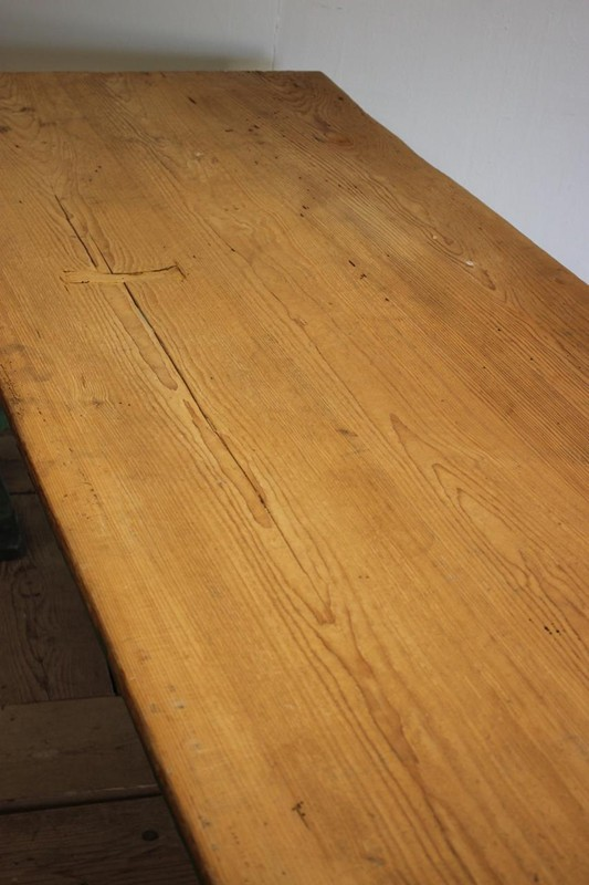 1940s Pine Dining Table in original paint-brownrigg-product4-13july-4715-4-main-636670944159346378.jpeg