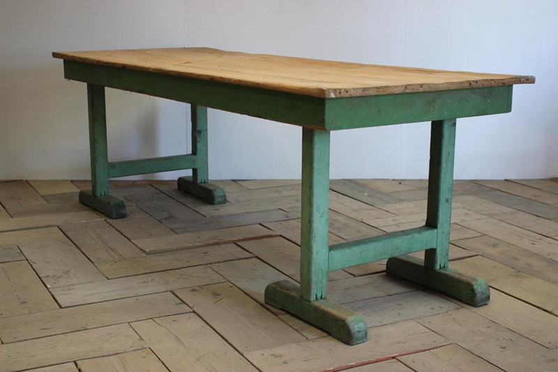 1940s Pine Dining Table in original paint-brownrigg-product4-13july-4715-E1-main-636670944167770756.jpeg