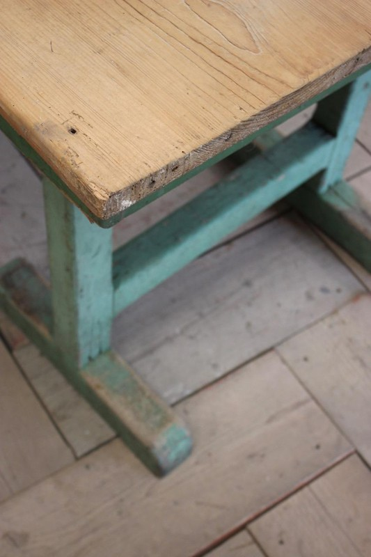 1940s Pine Dining Table in original paint-brownrigg-product4-13july-4715-E2-main-636670944175415099.jpeg