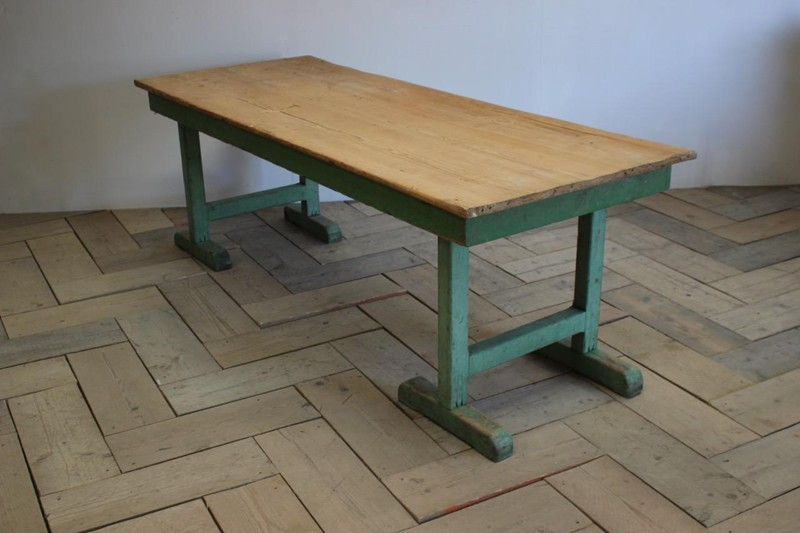 1940s Pine Dining Table in original paint-brownrigg-product4-13july-4715-E3-main-636670944182903435.jpeg