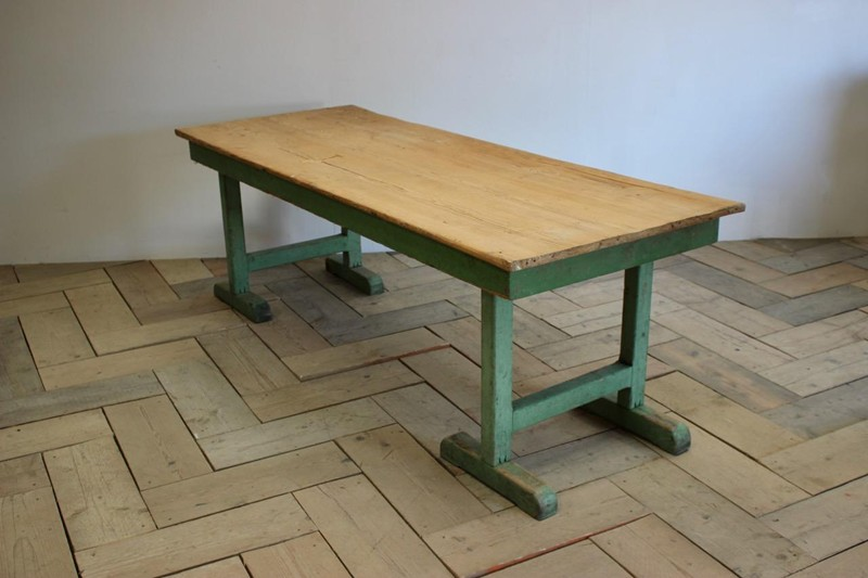 1940s Pine Dining Table in original paint-brownrigg-product4-13july-4715-L-main-636670944205524450.jpeg
