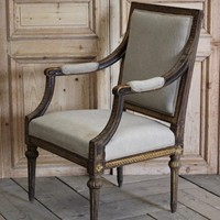 Swedish Gustavian Armchair