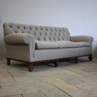 Large 19th cent English Country House Sofa