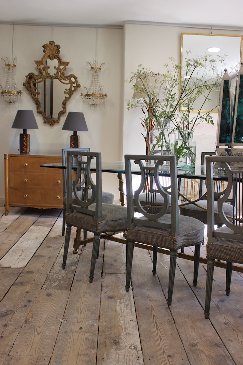 Set of Eight Louis XVI Style Dining Chairs, 1920s - Decorative ...