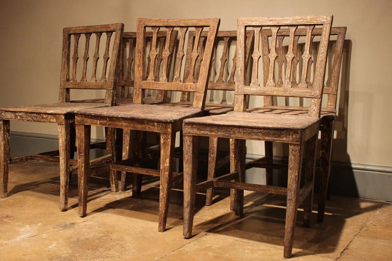 Set of Six 19th Cent Painted Swedish Dining Chairs-brownrigg-set-of-six-19th-cent-painted-swedish-dining-chairs-244-E2-main-636753014040152961.jpeg