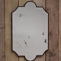 Mid 20th cent Spanish Mirror with Bevelled Glass