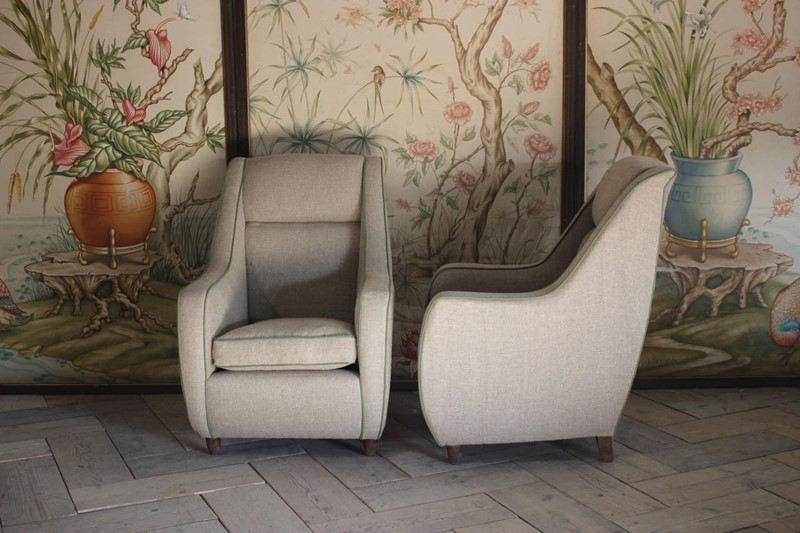 Pair of 1950s Italian Upholstered Armchairs-brownrigg-stylish-pair-of-1950s-italian-upholstered-armchairs-612-4-main-636886013253151428.jpeg