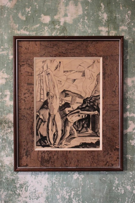 Two original paintings by Pedro Muñoz Condado -brownrigg-two-original-paintings-by-pedro-muoz-condado-1903-1988--528-e2-main-636870401576640641.jpeg