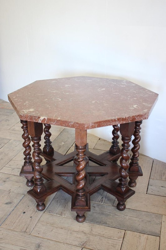 C19th French Octagonal Centre Table-brownrigg-unusual-c19th-french-octagonal-centre-table-with-fossil-marble-top-5145-2-main-637052828186470584.jpeg