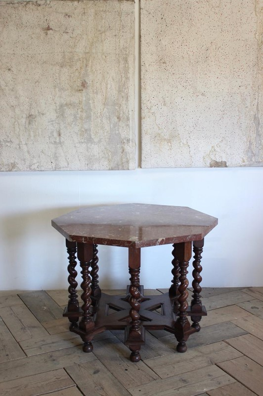 C19th French Octagonal Centre Table-brownrigg-unusual-c19th-french-octagonal-centre-table-with-fossil-marble-top-5145-e1-main-637052828194595905.jpeg