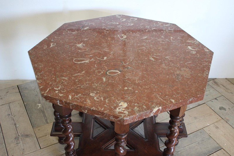 C19th French Octagonal Centre Table-brownrigg-unusual-c19th-french-octagonal-centre-table-with-fossil-marble-top-5145-e2-main-637052828198970475.jpeg
