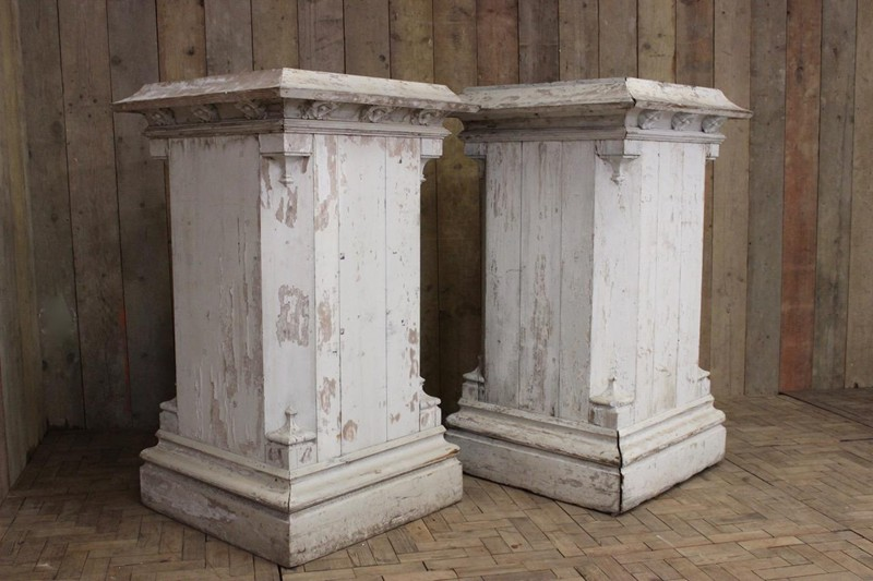Pair of C19th Country House Painted Plinths -brownrigg-very-large-pair-of-c19th-english-country-house-painted-wooden-plinths-6-E3-main-636590570927822682.jpeg
