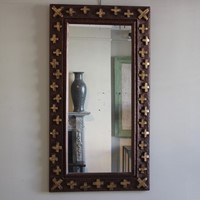 Very Stylish 1950s French Mirror