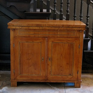 Early 19thC Swedish Cupboard/Desk