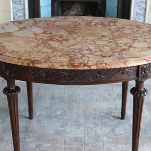 19th century French Marble Top Centre Table