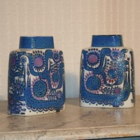Two Berte Jessen Vases For Royal Copenhagen c1969