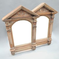 Pair Arts and Crafts Architectural Mirrors
