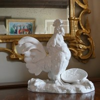 19th Century Paris Porcelain Cockerel