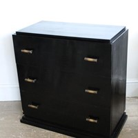 A French Deco 3 drawer chest