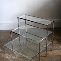 A 3 tier side table
