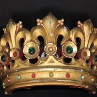 Decorative 19th Century Crown