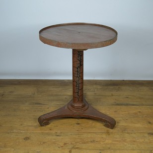 French Painted Bistro Table