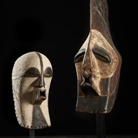 Set of Male Kifwebe Masks
