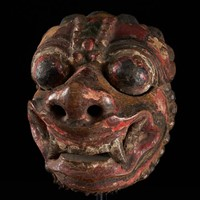 Borneo Mask from Bali
