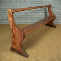 Shallow Pine Tack Room Bench c.1890.
