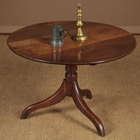 Reduced Oak Tripod Coffee Table