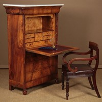 French Walnut Secretaire Abattant c.1830