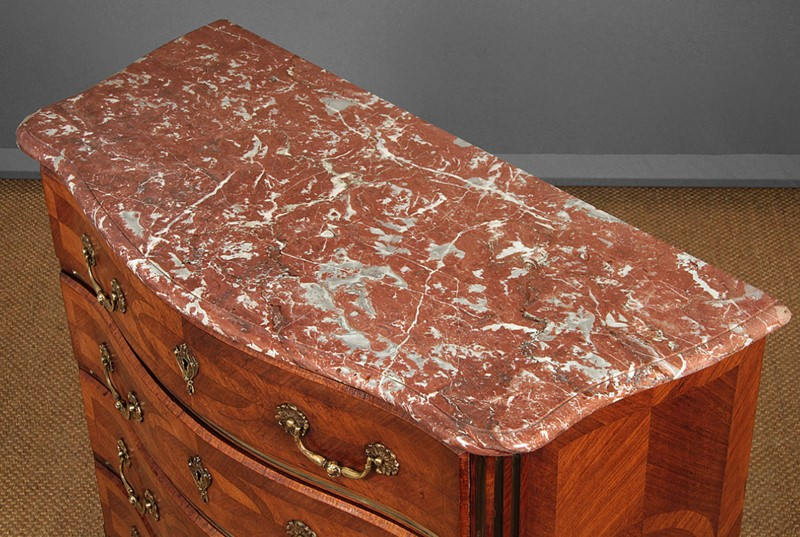 Marble Top Parquetry Chest of Drawers.-collinge-antiques-img-4703-main-637321633243683136.jpg