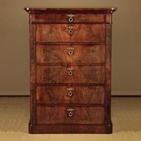 Tall Biedermeier Chest of Drawers c.1830.